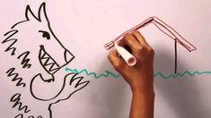 LOS TRES CERDITO Y EL LOBO FEROZ en español cuento infantil