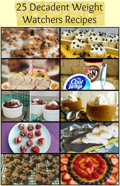 Weight Watchers Desserts and Sweet Snacks - - Weight Watchers Desserts and Sweet Snacks Weight Watcher Trying to lose weight? Indulge your sweet tooth with these Weight Watchers desserts and sweet snacks! Skinny Recipes, Ww Recipes, Light Recipes, Healthy Recipes, Recipies, Snack Recipes, Ww Desserts, Weight Watchers Desserts, Light Desserts