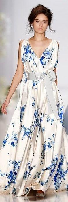 Cute Summer Maxi Dress