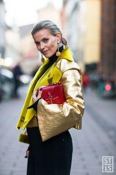 Janka Polliani during Copenhagen Fashion Week AW 2016