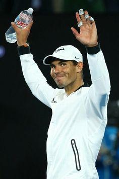 Rafael Nadal at the Australian Open 2017.