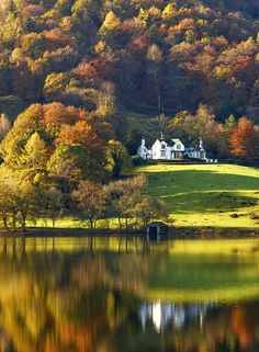 Cumbria in northern England