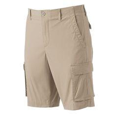 Men's Apt. 9® Premier Flex Modern-Fit Stretch Cargo Shorts, Med Beige