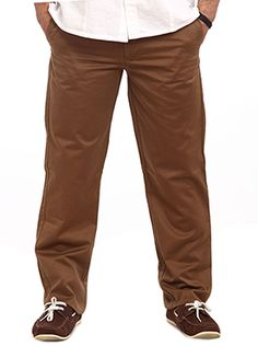 Here comes another casual wear in medium brown color from Color Plus. It has pleatless front type and cross pocket design. The Color Plus Select Casual wear is made of high quality and skin friendly materials. The classy yet comfortable fitting gives that soothing feeling and touch that you wouldn�t want to come out of it. The medium brown color enhances its outlook and personality. You can wear a jazzy tee shirt on top or a plain cool white shirt