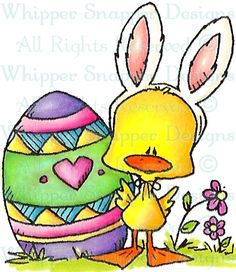 Whipper Snapper Designs is an expansive online store selling a large variety of unique rubber stamp designs. Easter Art, Hoppy Easter, Easter Crafts, Easter Bunny, Easter Drawings, Easter Paintings, Card Drawing, Easter Holidays, Happy Holidays