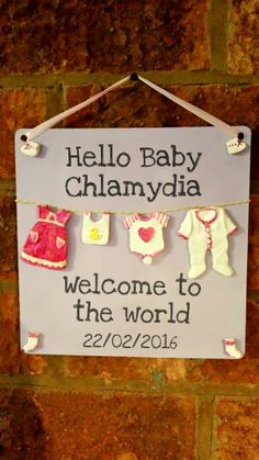 Aaaah welcome new baby, custom 3d baby plaque See more at facebook.com/dontneedgottahave  #sign #baby #gift #christening #birth #born #picoftheday #chlamydia #clothes #instalike #smile #heart #hello #cute #sexual #disease #std #doctor #transmited