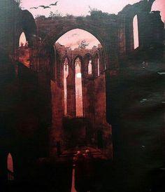 Casper David Friedrich - Ruine