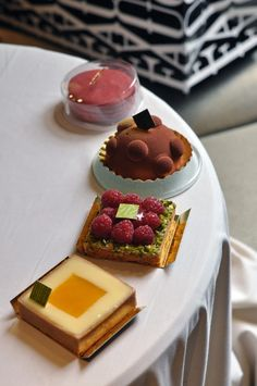 Almost too pretty to eat — Fauchon pastries, Paris - Desserts - Sweets - Posters - Chocolate - Berries