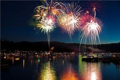 4th of July on Bass Lake, CA; doesn't get any better!