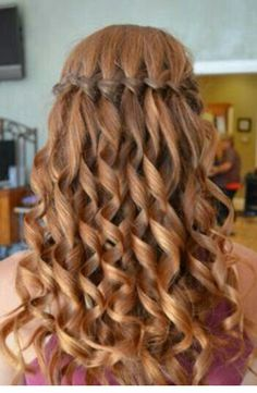 Water fall braids