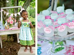 little girls tea party ideas - Google Search