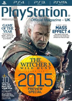 Official #PlayStation Magazine 105. The Witcher 3, Mass Effect 4…And much more..