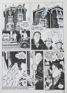 1987 - Tardi : 120 rue de la gare par Jacques Tardi - Planche originale
