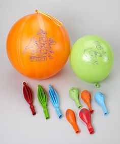 Take a look at this Teenage Mutant Ninja Turtles Balloon & Punch Ball Set by Teenage Mutant Ninja Turtles on #zulily today!