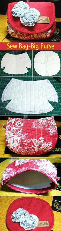 Sew Bag-Big Purse. DIY tutorial with patterns. http://www.handmadiya.com/2012/04/blog-post_28.html