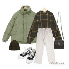 how to put outfits together Korean Outfits, Retro Outfits, Chic Outfits, Spring Outfits, Winter Outfits, Asian Fashion, Look Fashion, Hijab Fashion, Winter Fashion