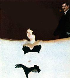 """Ferenc Pintèr - Illustrazione per """"La ballerina del Gai Moulin"""""""