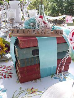 Brides place setting