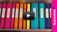 Minimalist Organization School - [VIDEO] Best Binders & Dividers to Use for Home Office or School Papers School Supply Storage, School Paper Organization, Binder Organization, Home Office Organization, Organizing School, Organizing Papers, Organization Ideas, Office Dividers, Binder Dividers