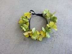 Green Tinkerbell inspired Floral Headband/ Flower by DevineBlooms