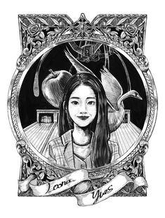 """햇칭 on Twitter: """"yves god #loona #이달의소녀yyxy #이달의소녀 #LOONAyyxy #yves #이브 #loonafanart… """""""