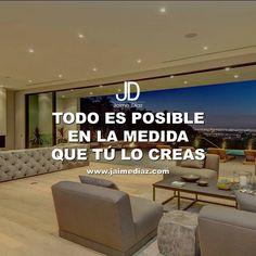 No hay imposibles!!! #JaimeDiaz #JDquotes #vision #emprendimiento #libertadfinanciera #luxury #negocios