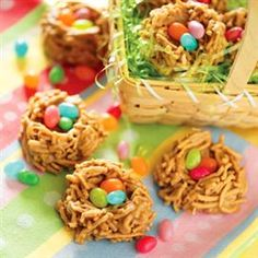 Peanut Butter Easter Nests