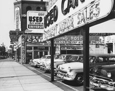 University Motor Sales' Goodwill Used Car Trading Post, Massachusetts
