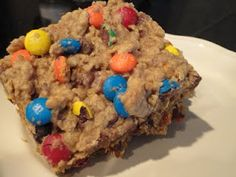 MONSTER Cookie Bars!