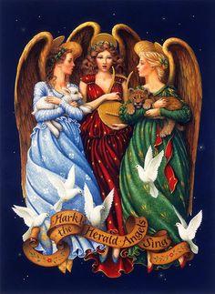 HARK THE HERALD ANGEL SINGS BY LYNN BYWATERS