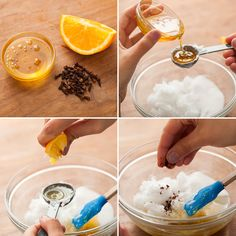 Pucker Up For Winter With DIY Sugar Lip Scrubs via Brit + Co.  E:  Makes a great holiday or hostess gift!