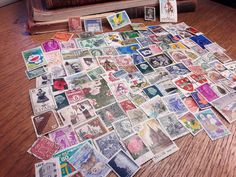 Excited to share the latest addition to my #etsy shop: 100 Postage Stamps from all over the world http://etsy.me/2CjV3dt #vintage #collectibles #postage #stamps #decoupage #scrapbooking #oldstamps #vintagestamps #usedstamps