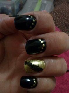 Nail, black