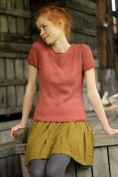 Amélie | pattern by gudrun (the shetland trader) | great colors.