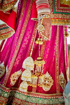 beautiful embroidery and colour combination, it is art