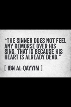 I see this many times, some people feel no remorse! May Allah save us. Ameen