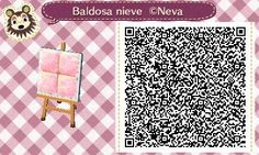 cutearanecrossing:  *:・゚✧ Pink tile QR code  *:・゚✧ By my friend Neva Crossing ^o^*:・゚✧ Her facebook page here  *:・゚