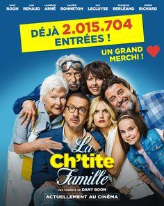 La Ch'tite Famille de #DanyBoon n'est pas si petite que ça...