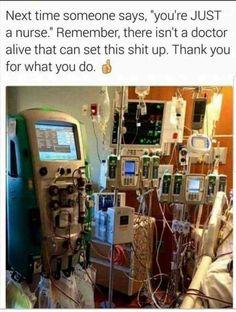 All in a days work in the ICU Nursing Tips, Nursing Notes, Funny Nursing, Nursing Articles, Nursing School Humor, Rn Humor, Nurse Jokes, Medical Memes, Funny Medical