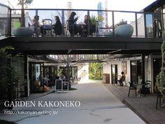 代々木VILLAGE : 過去猫の庭 Pocket Garden, Mall, Commercial, Container, Japan, Lifestyle, Architecture, Street, Outdoor