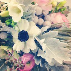 Pretty Petals - Anemones in a Brides Bouquet
