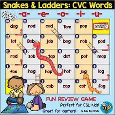 CVC Words Game \