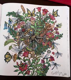 """Říše snů  #kerbyrosanes #imagimorphia #anticoloringbook #coloringbook #antistresoveomalovanky #risesnu"""