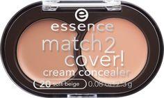 Der Review zum neuen match2cover concealer von essence!