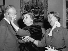 Dignitary::: Helen met every U.S. President from Grover Cleveland to Lyndon B. Johnson; here she is pictured with President Dwight D. Eisenhower. She was friends with many famous figures, including Mark Twain and Alexander Graham Bell, and met many artists of the day, including Charlie Chaplin, Martha Graham, and Enrico Caruso. In 1964, Lyndon B. Johnson awarded Helen America's highest civilian honor, the Presidential Medal of Freedom.