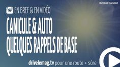 #VIDÉOBRÈVE #Canicule et #route : quelques rappels de base: Avec la canicule, il sera pénible de rouler ces prochains… pour + d'infos/vidéo