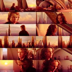 This movie is so sad. Cute though, how Anakin is willing to do anything for Padmé.