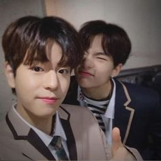 Seungmin and Hyunjin Stray Kids