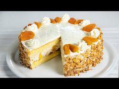 Gyümölcsös sajtkrém torta (Szécsi Szilvi) - YouTube Cheesecake, Baking, Youtube, Food, Cheesecakes, Bakken, Essen, Meals, Backen