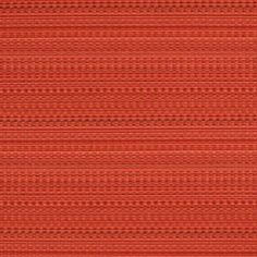 """Sunbrella by Silver State 40772 Calypso-Flame Indoor / Outdoor Upholstery - Fabric Width: 54 inches ( 137.16 cm)Collection Name: Riviera by Kate KortenPattern Name: CalypsoColor Name: FlameHorizontal Repeat: 0.2""""Verticle Repeat: 5.88""""Contents: 100% Sunbrella AcrylicRubs: 15,000 Double RubsCleaning Code: Mild Soap and WaterFlame Resistant Codes : Cal 117 Section E UFAC Class 1 NFPA 260Finish Treatment: U.V. Resistant, Mildew Resistant, Water Repellent, Soil / Stain Resistant"""